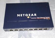 Netgear ProSafe Fs108 8-Port Ethernet Switch 10/100 Mbps