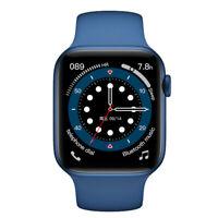 Smartwatch Herzfrequenz Puls Blutdruck & Temperaturmessung Deutsches Menü HD Uhr