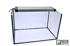 """Frameless Glass Aquarium Kit - 11 Gallons w/18-24"""" LED Strip Light SR Aquaristik"""