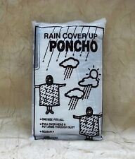 New Orleans Bourbon Street Signs Adult Rain Poncho Louisiana OSFM