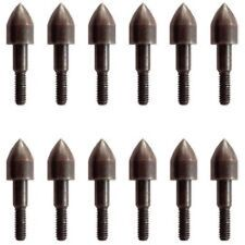 ONE DOZEN 100GR FIELD POINTS FOR ANY CROSSBOW BOLT