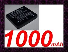 "★★★ ""1000mA"" BATTERIE Type DMW-BCF10E/S009 ★★★ Pour PANASONIC LUMIX DMC-FT3"