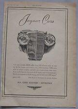 1942 Jaguar Original advert No.1