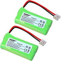 Pack de 2 HQRP Batterie Téléphone sans Fil pour Ge 27911 27909 27903 27956 25250