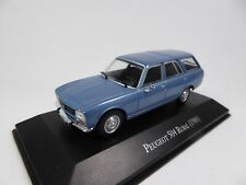 Peugeot 504 Break Rural (1980) 1/43 Voiture SALVAT Diecast Model Car AQV37