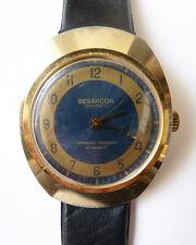 Ancienne montre BESANÇON SPIH-Ref. 17 mécanique vers 1970 watch fonctionne