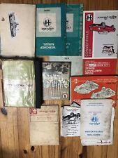 Alfa Romeo Misc. Literature And Manuals