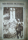 WWI American Soldier at Prayer France/war front 9-12-18 Mid-Week Pictorial mag