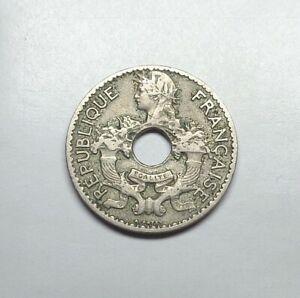 1924 French Indochina 5 Cent, KM-18.