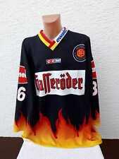 Eishockey Trikot Deutschland DEB Shirt Jersey Ewald XXL XL Gameworn? 2001 Bakos