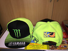 CAP HAT OFFICIAL MONSTER 2016 V. ROSSI FLAT VISOR LIMITED ED.  SIZE U ADJUSTABLE