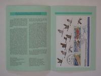 (96j25) Bund Erinnerungsblatt 1996 ESST Block 36 Vorpommersche Boddenlandschaft