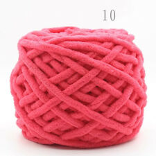Watermelon Red soft Cotton Worsted Bulky Crochet Knitting Polyester Blend Yarn