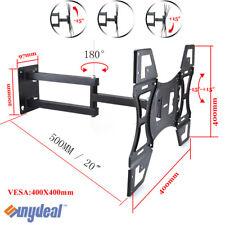 Swivel&Tilt TV Wall Mount Flat Bracket 24 27 30 32 37 42 46 47 50 52 60 inch LCD