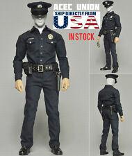1/6 LA Police Cop Uniform Set LAPD T1000 Terminator For Hot Toys Phicen U.S.A.