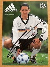 Oliver Neuville AK DFB 1999 Autogrammkarte original signiert (6/99)