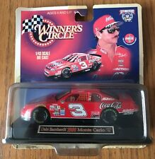 NIB Winner's Circle 50th Anniv. Dale Earnhardt 1998 CocaCola diecast, 1/43