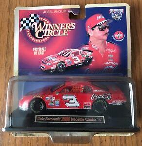NIB Winner's Circle 50th Anniv. Dale Earnhardt 1998 CocaCola diecast, 1/43