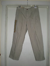Boys  Urban Pipeline Original Khaki Pleated size 10 Husky Tan