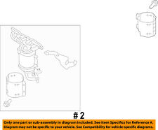 FORD OEM-Exhaust Manifold FB5Z5G232A