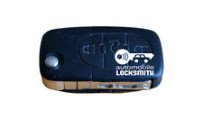 Used Audi A3 A4 A6 A8 TT S3 S4 S6 3 button flip remote key fob 4D0 837 231 K