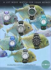 Sekonda Xpose Range Watch 2001 Magazine Advert #3037