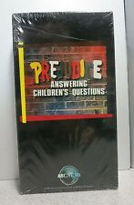 Prejudice - Answering Childrens Questions (VHS, 1992) *NEW* FAST SHIPPER