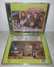 CD ANTHRAX - METAL THRASHING MAD - NUOVO NEW
