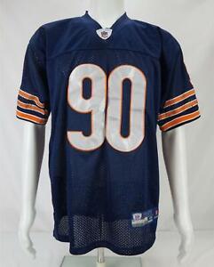 Reebok On Field Julius Peppers #90 Chicago Bears Men's  Jersey Blue  Size 48