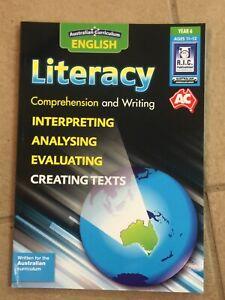 Australian Curriculum English Literacy Year 6 - NEW!