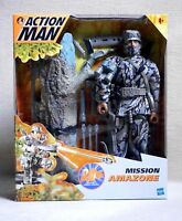 """ACTION MAN """" MISSION AMAZONE """" MISB HASBRO 2000 New in sealed box Vintage"""