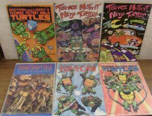 TEENAGE MUTANT NINJA TURTLES TMNT 24 25 35 39 40 41 MIRAGE COMIC LOT 1989 VF/NM