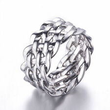 Markenlos Edelmetall Ringe ohne Steine