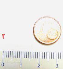 Ersatz-Makrofon klein rot z.B. für ROCO DB Elektrolok BR 101 Spur N 1:160 - NEU
