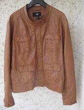 Jacke im Bikerstil, Lederlook, H & M, Gr. 44/46, wie neu!