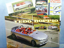 AUTO996-RITAGLIO/CLIPPING/NEWS-1996-ITALDESIGN FORMULA 4/FORM. HAMMER - 4 fogli