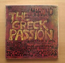 Martinu The Greek Passion Charles Mackerras 2xLP Supraphon 1116 3611/2 NEAR MINT