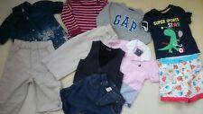 10x siguiente Ralph Lauren River Island Gap paquete de ropa de bebé niño 12/18 mths (1)