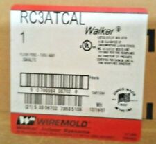 Wiremold RC3ATCAL FLUSH POKE-THRU ASSY/20A/AL/TC
