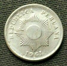 1961 Peru 1 Centavo CH UNC      Condition rarity   World Coin    #B056