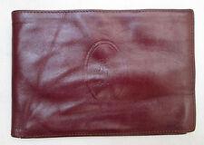 AUTHENTIQUE portefeuille - porte-cartes  CARTIER  cuir  BEG vintage /