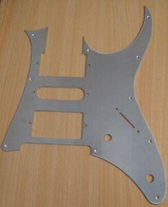 Laser cut aluminium guitar parts
