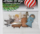 Christmas Nativity Buttons / Dress It Up Holiday Buttons by Jesse James # 7473