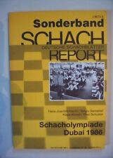 Schach - Schacholympiade Dubai 1986, Hecht/Samarian/Klundt/Schuster