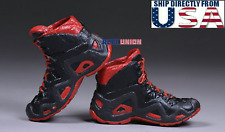 """1/6 Tactical Army Military Combat Boots For 12"""" PHICEN Hot Toys Male Figure USA"""