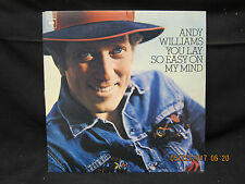 Andy Williams You Lay So Easy On My Mind - Columbia Records  1974