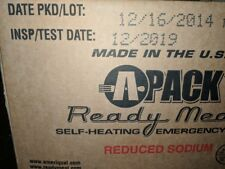 Genuine US Military Meals Ready to Eat MRE Sealed Pack A-2019