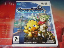 jeu wii wii U ultra rare final fantasy fables chocobo's dungeon complet