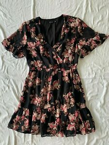 PORTMANS FRILLED DRESS SIZE 12