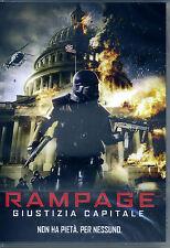 RAMPAGE - GIUSTIZIA CAPITALE con Mike Dopud - bollino noleggio - DVD NUOVO